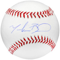 MOOKIE BETTS Autographed Red Sox Official MLB Baseball FANATICS