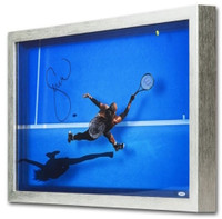 """SERENA WILLIAMS Signed """"Great From Above"""" Framed Acrylic Display UDA LE 25"""