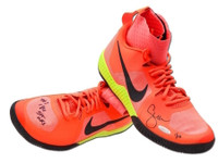 SERENA WILLIAMS Autographed / Inscribed Pink Nike Flare Shoes UDA LE 10