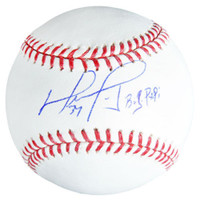 "DAVID ORTIZ Autographed Boston Red Sox ""Big Papi"" Baseball FANATICS"