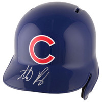 ANTHONY RIZZO Autographed Chicago Cubs Autographed Batting Helmet FANATICS