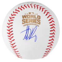 ANTHONY RIZZO Autographed Official 2016 World Series Baseball FANATICS