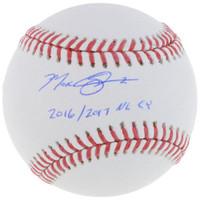"MAX SCHERZER Autographed / Inscribed ""2016/2017 NL CY"" Baseball FANATICS"