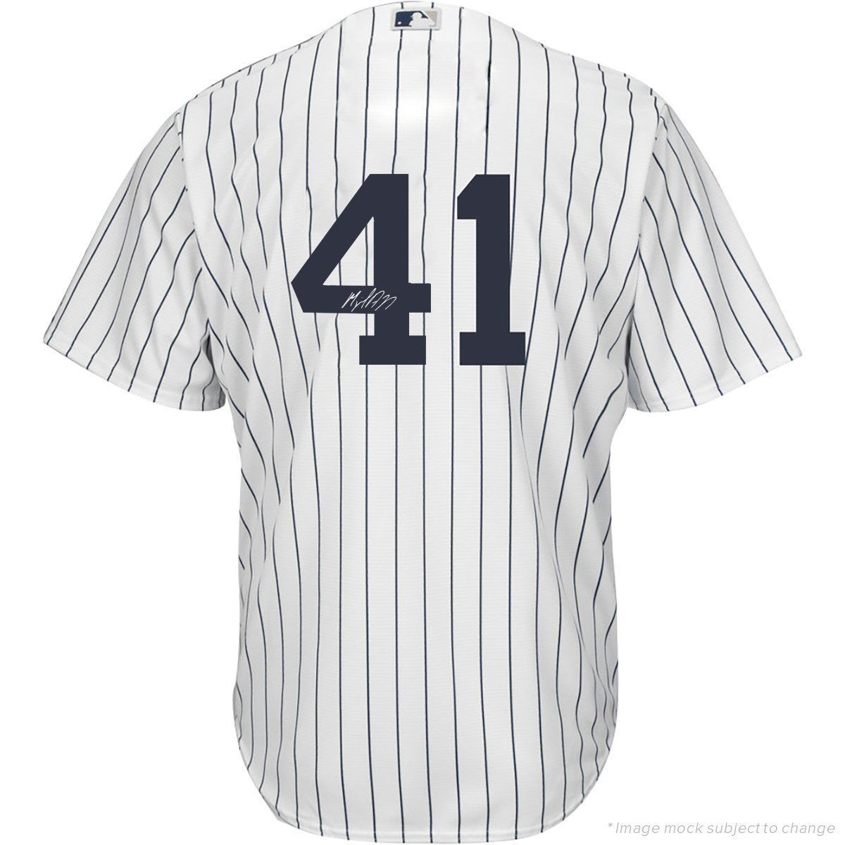 online store d20be d2e56 MIGUEL ANDUJAR Autographed New York Yankees Authentic Home Jersey STEINER