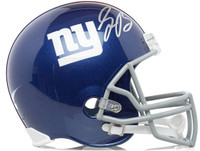 SAQUON BARKLEY Autographed New York Giants Full Size Helmet PANINI