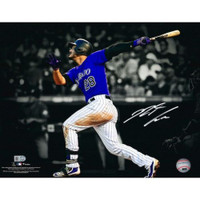 "NOLAN ARENADO Autographed 11""x 14"" Rockies Spotlight Photograph FANATICS"