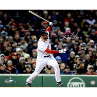 "J.D. MARTINEZ Autographed Red Sox ""Grand Slam"" 16"" x 20"" Photograph STEINER"