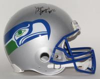 STEVE LARGENT Signed / Inscribed HOF Proline Helmet STEINER LE 1/80