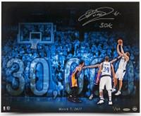 "DIRK NOWITZKI Autographed Mavericks ""30k"" 16"" x 20"" Photograph UDA LE 20"