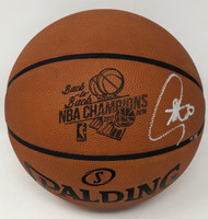 "STEPHEN CURRY Autographed ""B2B Champs"" Engraved Basketball STEINER LE 30"