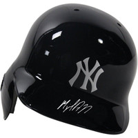 MIGUEL ANDUJAR Autographed New York Yankees Batting Helmet STEINER