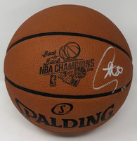 "STEPHEN CURRY Autographed ""B2B Champs"" Engraved Basketball STEINER LE 1/30"