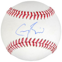 GREG BIRD Autographed New York Yankees Official Baseball FANATICS