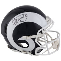TODD GURLEY Autographed Los Angeles Rams Authentic Speed Helmet FANATICS