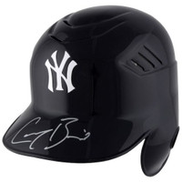 GREG BIRD Autographed New York Yankees Batting Helmet FANATICS