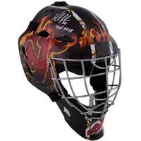 "MARTIN BRODEUR Autographed ""HOF 18"" New Jersey Devils Goalie Mask FANATICS"