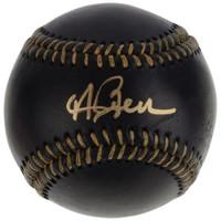 ANDREW BENINTENDI Autographed Boston Red Sox Black Leather Baseball FANATICS