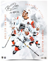 "CONNOR McDAVID Signed / Inscribed ""All-Star Collage"" 16 x 20 Photograph UDA"