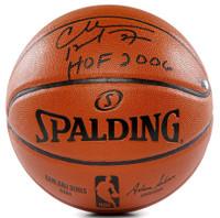"CHARLES BARKLEY Autographed ""HOF 2006"" Spalding Basketball PANINI LE 100"