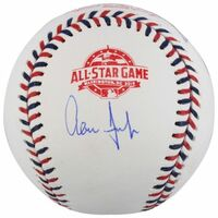 AARON JUDGE Autographed Yankees Authentic 2018 All Star Baseball FANATICS