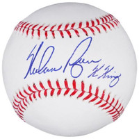 "NOLAN RYAN Autographed Houston Astros ""K King"" Official Baseball FANATICS"