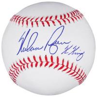 "NOLAN RYAN Autographed Houston Astros ""K King"" Official Baseball FANATICS"