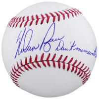 "NOLAN RYAN Autographed ""Don't Mess With Texas"" Official Baseball FANATICS"