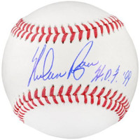 "NOLAN RYAN Autographed Texas Rangers ""HOF 99"" Official Baseball FANATICS"