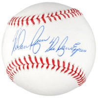 "NOLAN RYAN Autographed Rangers ""The Ryan Express"" Official Baseball FANATICS"