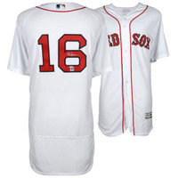 ANDREW BENINTENDI Autographed Boston Red Sox White Authentic Jersey FANATICS