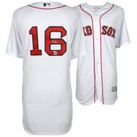 ANDREW BENINTENDI Autographed Boston Red Sox White Authentic Jersey FANATICS