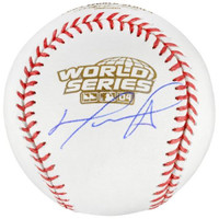 DAVID ORTIZ Autographed Boston Red Sox 2004 World Series Baseball FANATICS
