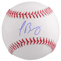 JAVIER BAEZ Autographed Chicago Cubs Official Baseball FANATICS