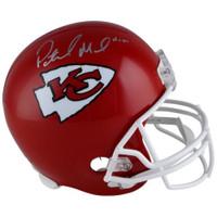PATRICK MAHOMES Autographed Kansas City Chiefs Full Size Helmet FANATICS