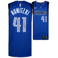 "DIRK NOWITZKI Autographed Dallas Mavericks ""2011 NBA Finals MVP"" Jersey FANATICS"