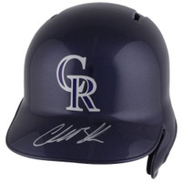 CHARLIE BLACKMON Autographed Colorado Rockies Batting Helmet FANATICS