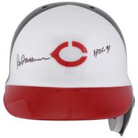 "ROD CAREW Autographed ""HOF 91"" Minnesota Twins Batting Throwback Helmet FANATICS"