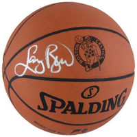 LARRY BIRD Autographed Celtics Laser Engraved Authentic Basketball FANATICS