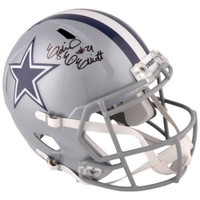 EZEKIEL ELLIOTT Autographed Dallas Cowboys Speed Helmet FANATICS