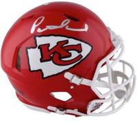 PATRICK MAHOMES Autographed Kansas City Chiefs Speed Authentic Helmet FANATICS