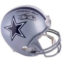 "JASON WITTEN Autographed ""Americas Team"" Dallas Cowboys Helmet FANATICS"