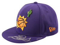 DEANDRE AYTON Autographed Phoenix Suns New Era 2018 Draft Day Cap - Limited Edition of 22 - GAME DAY LEGENDS & STEINER