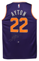 DEANDRE AYTON Autographed Purple Fastbreak Jersey - GAME DAY LEGENDS & STEINER