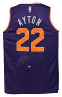 DEANDRE AYTON Autographed Purple Fastbreak Jersey - GAME DAY LEGENDS & STEINER