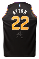 DEANDRE AYTON Autographed Black Statement Edition Fastbreak Jersey - GAME DAY LEGENDS & STEINER