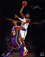 "DEANDRE AYTON Autographed Phoenix Suns ""Over LeBron"" 16"" x 20"" Photograph - Limited Edition of 50 - GAME DAY LEGENDS & STEINER"