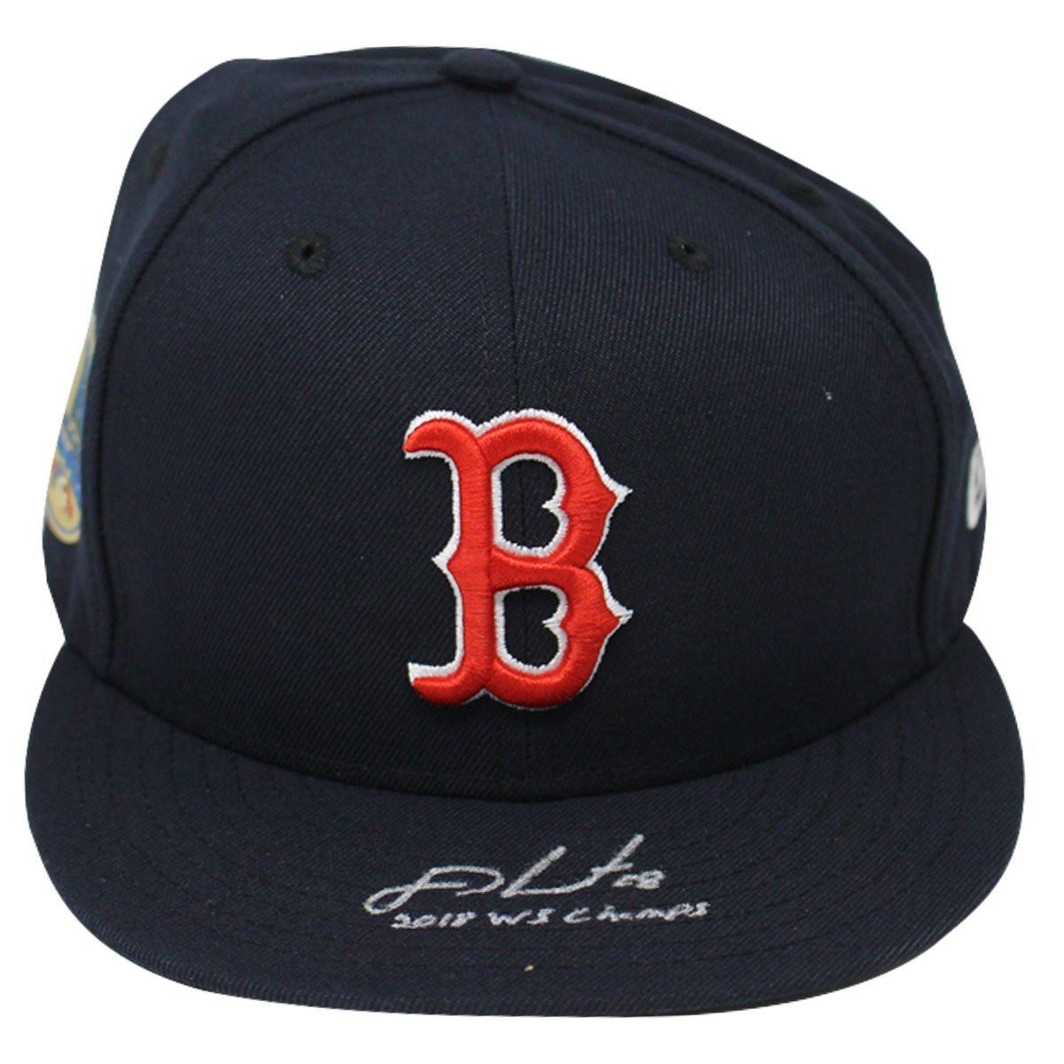 103508dbb48769 ... Era Navy Home 2018 World Series Patch Fitted Hat STEINER. Price:  $269.00. Image 1