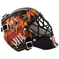MARTIN BRODEUR Autographed New Jersey Devils Mini Goalie Mask FANATICS