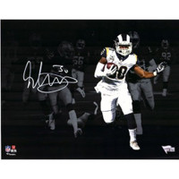 "TODD GURLEY Autographed Los Angeles Rams 11"" x 14"" Spotlight Photograph - FANATICS"