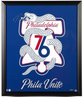 "BEN SIMMONS Philadelphia 76ers Autographed ""Unite"""" 20 x 24 Framed Photograph UDA"